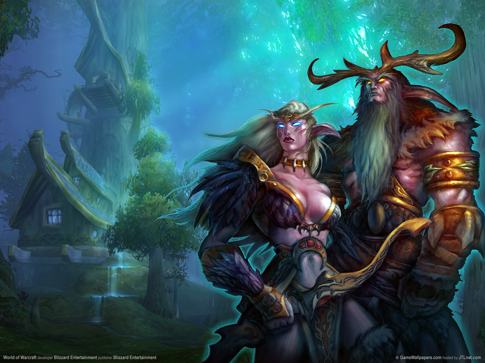 What are the best world of warcraft characters nearya